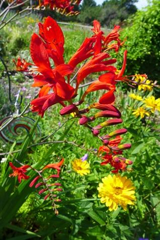 Cross Village art gallery garden