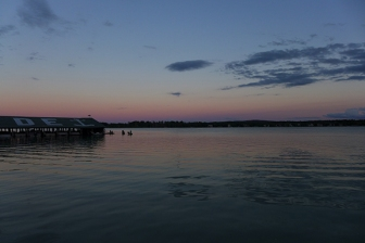 Crooked Lake at Sunset