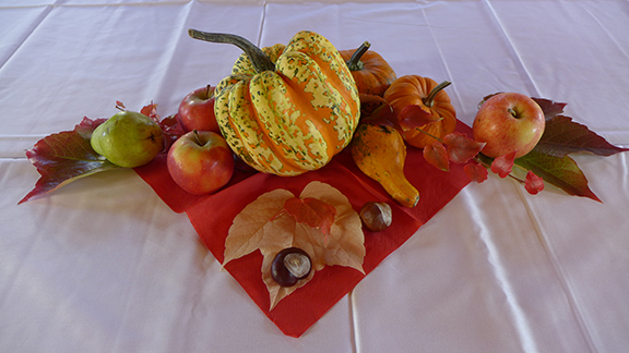 pumpkins as decor