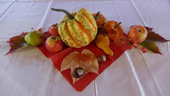 pumpkins as decor
