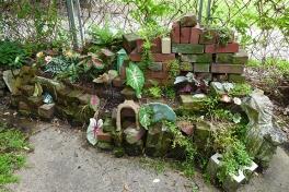 brick garden