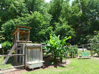 Chicken's Roost and Kids' Play Area
