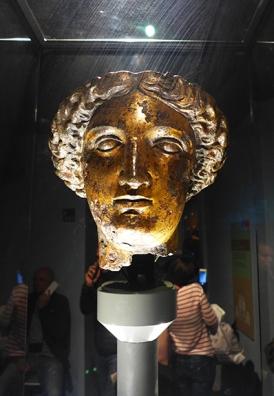 head of Sulis Minerva