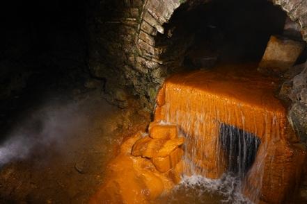 the Roman spring overflow
