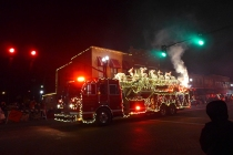 Archbold Ladder Truck on Fire