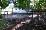 the neighbor's new yard