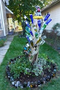 front bottle tree