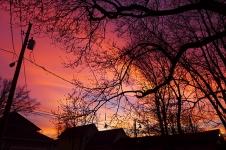 Christmas Even Sunset